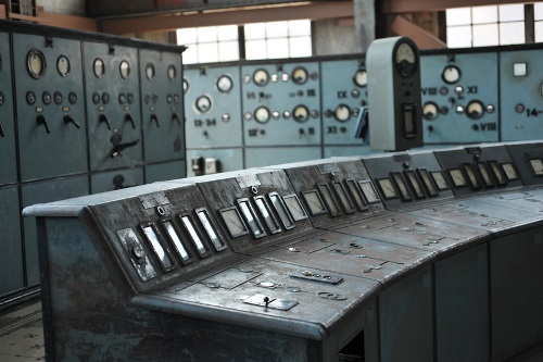 Old Control Room Power Plant
