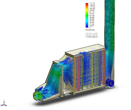 HRSG Boiler gas-path CFD Simulation