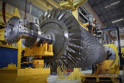 gas turbine rotor maintenance